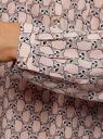 Блузка принтованная из вискозы oodji #SECTION_NAME# (розовый), 11411049-1/24681/4020K - вид 5
