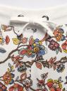 Брюки трикотажные на завязках oodji #SECTION_NAME# (разноцветный), 16701042-1B/46919/3019F - вид 4