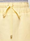 Юбка легкая с завязками oodji #SECTION_NAME# (желтый), 11600378-1/42630/5000N - вид 4