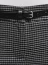 Брюки с отворотами и ремнем oodji #SECTION_NAME# (серый), 11703057-14/48498/2529C - вид 4