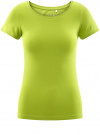 Футболка базовая приталенная oodji для женщины (зеленый), 14701005-7B/46147/6B00N - вид 6