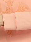 Свитшот с вышивкой из ткани букле oodji #SECTION_NAME# (розовый), 14807041-1/47999/4354P - вид 5