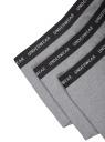 Комплект из трех трусов-боксеров oodji для мужчины (серый), 7B111001T3/50141N/2309M