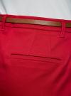 Юбка короткая хлопковая с ремнем oodji #SECTION_NAME# (красный), 11600397B/14522/4500N - вид 5