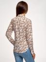 Рубашка хлопковая базовая oodji #SECTION_NAME# (разноцветный), 13K03001-1B/14885/104BE - вид 3