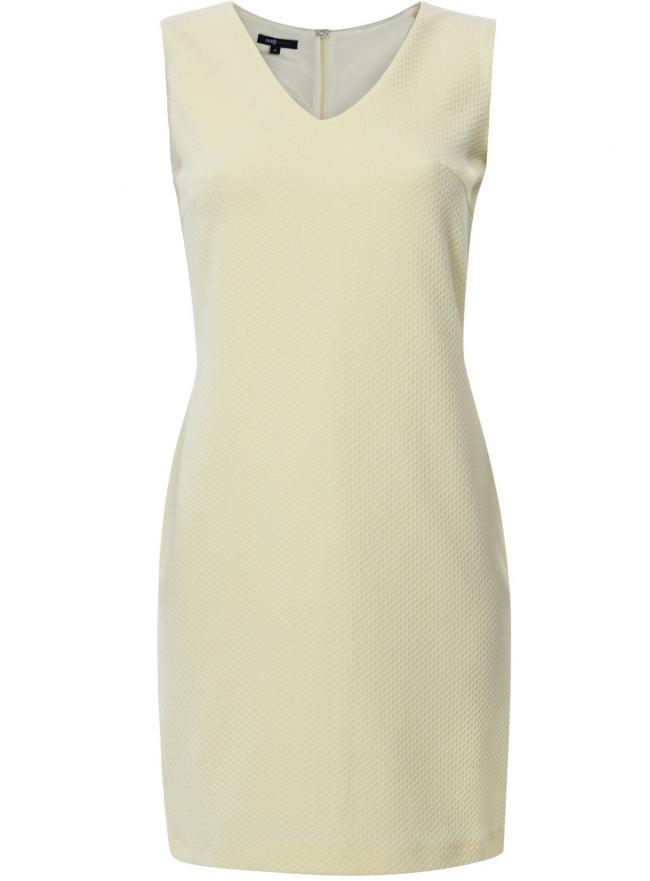 Трикотажное платье oodji для женщины (желтый), 24015003/45211/5000N