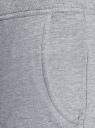 Брюки трикотажные спортивные oodji для женщины (серый), 16700030-5B/46173/2000M