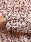 Блузка вискозная с отстрочками на груди oodji #SECTION_NAME# (розовый), 21411121/47075N/4029F - вид 5