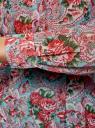 Платье принтованное из шифона oodji для женщины (разноцветный), 21912001-1/38375/7341F