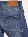 Джинсы slim со средней посадкой oodji для мужчины (синий), 6B120145M/45068/7400W