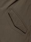 Парка с капюшоном и карманами oodji #SECTION_NAME# (зеленый), 1L422005M/46215N/6600N - вид 5