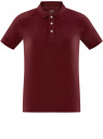 Поло из ткани пике oodji для мужчины (красный), 5B422001M/44032N/4901N