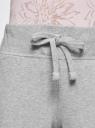 Брюки трикотажные (комплект из 2 пар) oodji #SECTION_NAME# (серый), 16700030-5T2/46173/2331N - вид 4