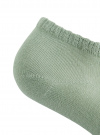 Носки укороченные базовые oodji #SECTION_NAME# (зеленый), 57102433/47469/6002N - вид 3