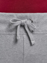 Брюки трикотажные спортивные oodji #SECTION_NAME# (серый), 16700030-5B/46173/2300M - вид 4