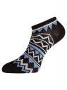 Комплект укороченных носков (6 пар) oodji #SECTION_NAME# (разноцветный), 57102433T6/47469/48 - вид 4