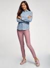 Рубашка джинсовая на кнопках oodji #SECTION_NAME# (синий), 16A09003-2/46361/7012D - вид 6