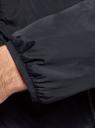 Куртка утепленная с капюшоном oodji #SECTION_NAME# (синий), 1L512022M/44334N/7900N - вид 5