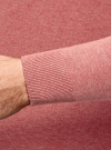 Джемпер базовый с круглым воротом oodji #SECTION_NAME# (розовый), 4B112003M/34390N/4A00M - вид 5