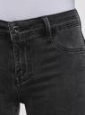 Джинсы skinny пуш-ап oodji для женщины (серый), 12104072-1/46920/2300W