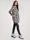 Платье-рубашка с карманами oodji #SECTION_NAME# (разноцветный), 11911004-2/45252/2912C - вид 6