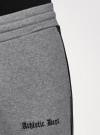 Брюки трикотажные на завязках oodji для мужчины (серый), 5L250001I-1/48823N/2329P - вид 5