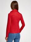 Рубашка хлопковая прилегающего силуэта oodji #SECTION_NAME# (красный), 21407048/42853/4500N - вид 3