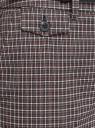 Брюки прямые с декоративным карманом oodji #SECTION_NAME# (серый), 21706031-1/46284/2910C - вид 5