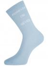 Комплект высоких носков (3 пары) oodji #SECTION_NAME# (разноцветный), 57102902T3/47469/49