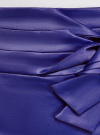Юбка прямая с декоративным бантом на поясе oodji #SECTION_NAME# (синий), 21601302/32700/7500N - вид 5