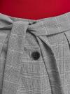 Юбка миди на пуговицах oodji #SECTION_NAME# (серый), 11600453/49823/2910C - вид 4