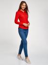 Рубашка базовая с нагрудными карманами oodji #SECTION_NAME# (красный), 11403222B/42468/4500N - вид 6