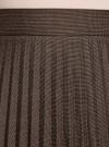 Юбка макси плиссированная oodji #SECTION_NAME# (коричневый), 21606020/45879/3912G - вид 4
