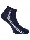 Комплект из трех пар носков oodji #SECTION_NAME# (синий), 57102708T3/48300/2 - вид 4