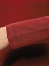 Футболка с длинным рукавом и вышивкой oodji для женщины (красный), 14201006/43522/4945P - вид 5