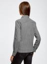 Рубашка в мелкую графику с карманами oodji #SECTION_NAME# (серый), 21441095/43671/2912G - вид 3