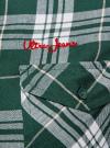 Рубашка в клетку с нагрудными карманами oodji #SECTION_NAME# (зеленый), 11400433/43223/6912C - вид 5