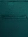 Брюки-чиносы с ремнем oodji #SECTION_NAME# (зеленый), 11706190-5B/32887/6E00N - вид 5