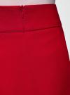 Юбка короткая базовая oodji #SECTION_NAME# (красный), 11600399-1B/14917/4500N - вид 5