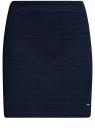 Юбка мини из фактурной ткани oodji для женщины (синий), 24100035-3/45284/7900N