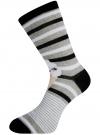 Комплект высоких носков (6 пар) oodji #SECTION_NAME# (разноцветный), 57102902T6/47469/20