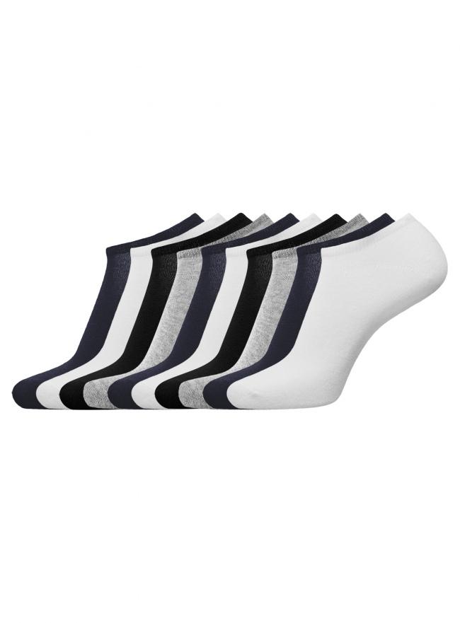 Комплект из десяти пар носков oodji для мужчины (разноцветный), 7B201000T10/47469/1903M