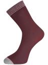 Комплект из шести пар носков oodji #SECTION_NAME# (разноцветный), 57102908T6/15430/3