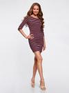 Платье трикотажное базовое oodji для женщины (разноцветный), 14001071-2B/46148/7545S - вид 6