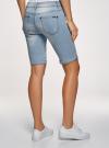 Шорты джинсовые удлиненные oodji #SECTION_NAME# (синий), 12807054B/45877/7000W - вид 3