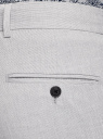 Брюки классические зауженные oodji для мужчины (серый), 2L210282M/49803N/2300O