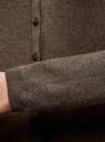 Кардиган вязаный на пуговицах oodji #SECTION_NAME# (коричневый), 73212401-2B/45647/3900M - вид 5