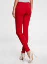 Легинсы с широким поясом oodji для женщины (красный), 18700047/37809/4500N
