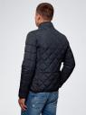 Куртка стеганая с карманами oodji #SECTION_NAME# (синий), 1L111028M/34857N/7900N - вид 3