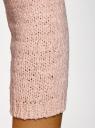 Джемпер базовый с вырезом-лодочкой oodji #SECTION_NAME# (розовый), 63803046-5B/48953/4001N - вид 5